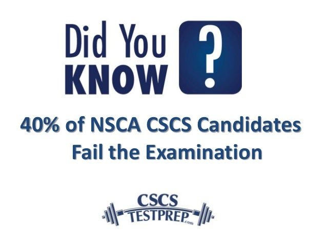 nsca cscs examination review and study guide pdf