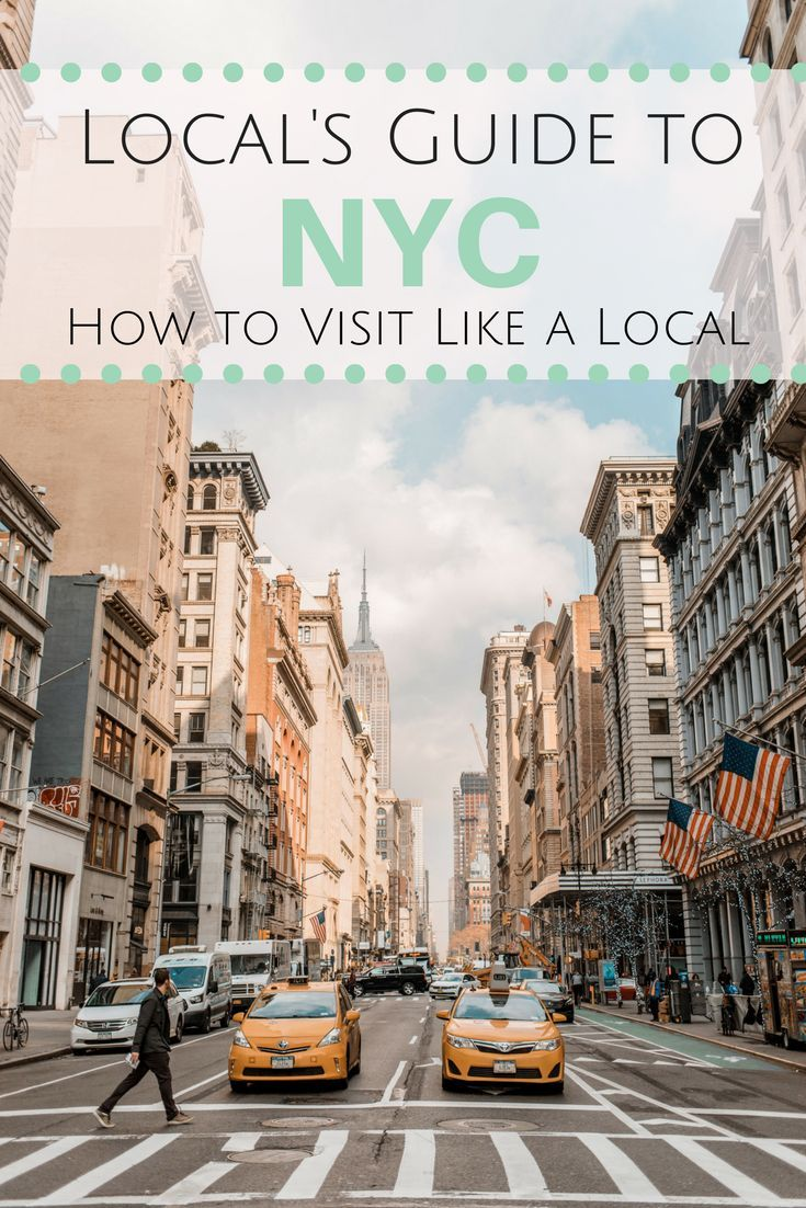 guide to visiting new york