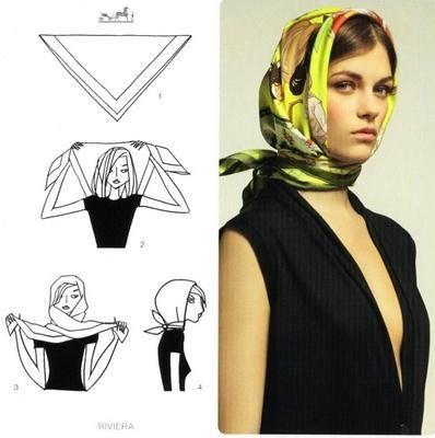 hermes scarf tying guide pdf