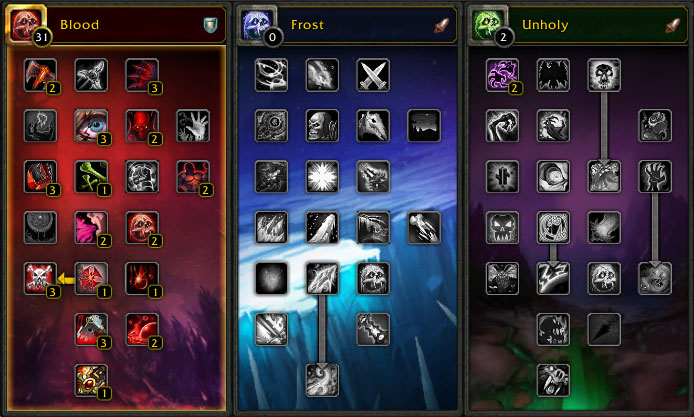 wow death knight leveling guide