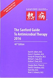 sanford guide to antimicrobial therapy 2015 pdf free download