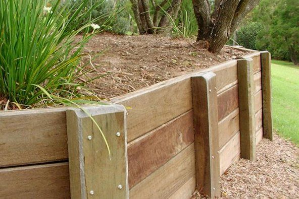 sleeper retaining wall design guide