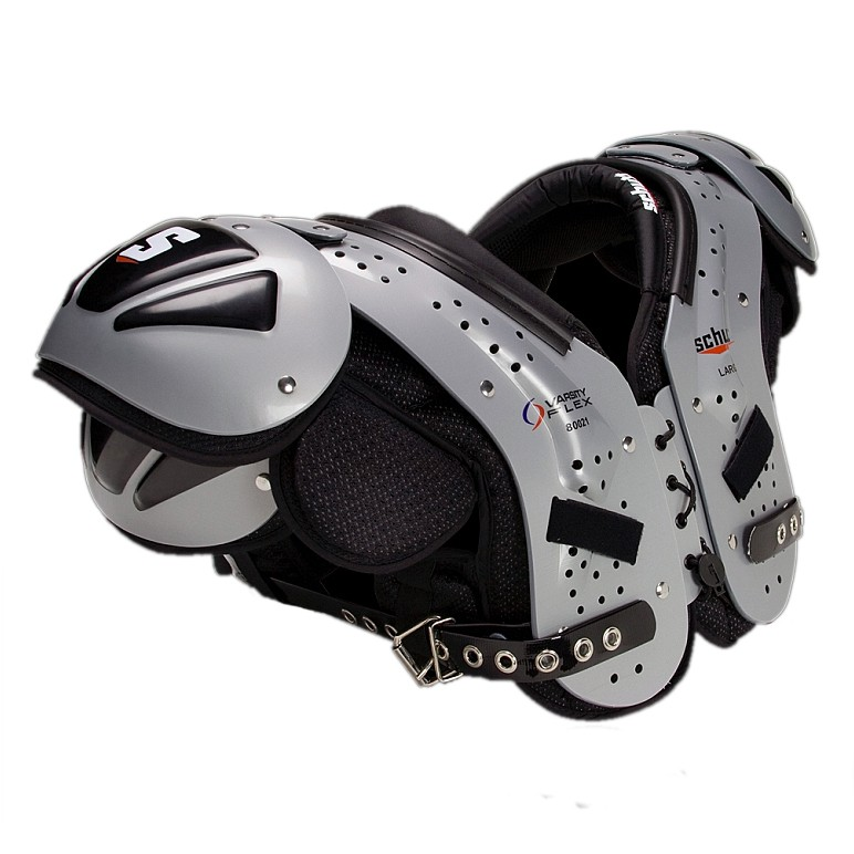 football shoulder pad fitting guide
