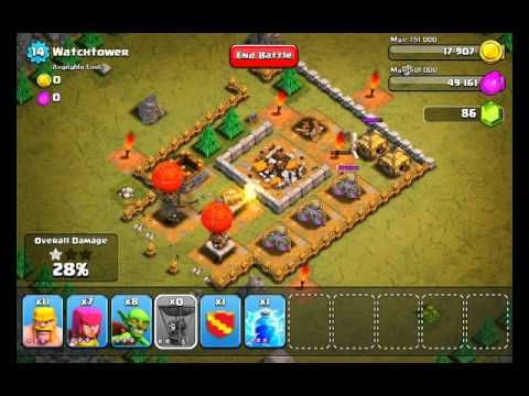clash of clan guide debutant