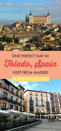 self guided walking tour toledo spain