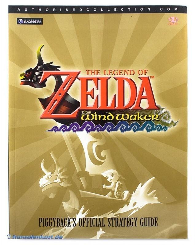legend of zelda wind waker guide book
