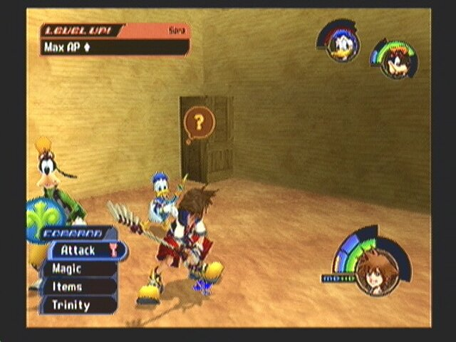kingdom hearts 2 level up guide
