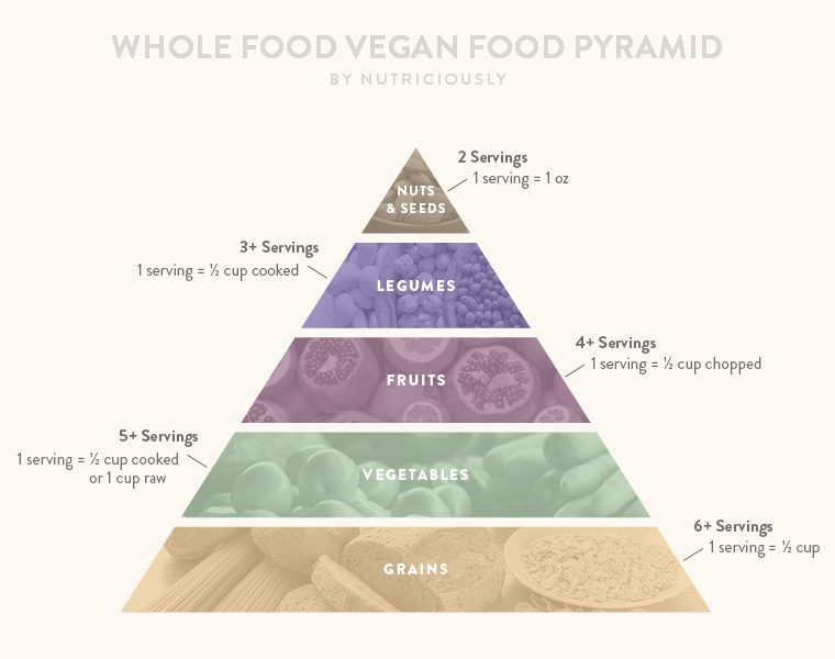 the food guide pyramid presents daily recommendations for the