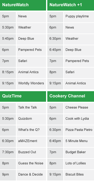 channel 4 1 tv guide