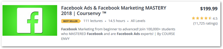 facebook ads & facebook marketing mastery guide