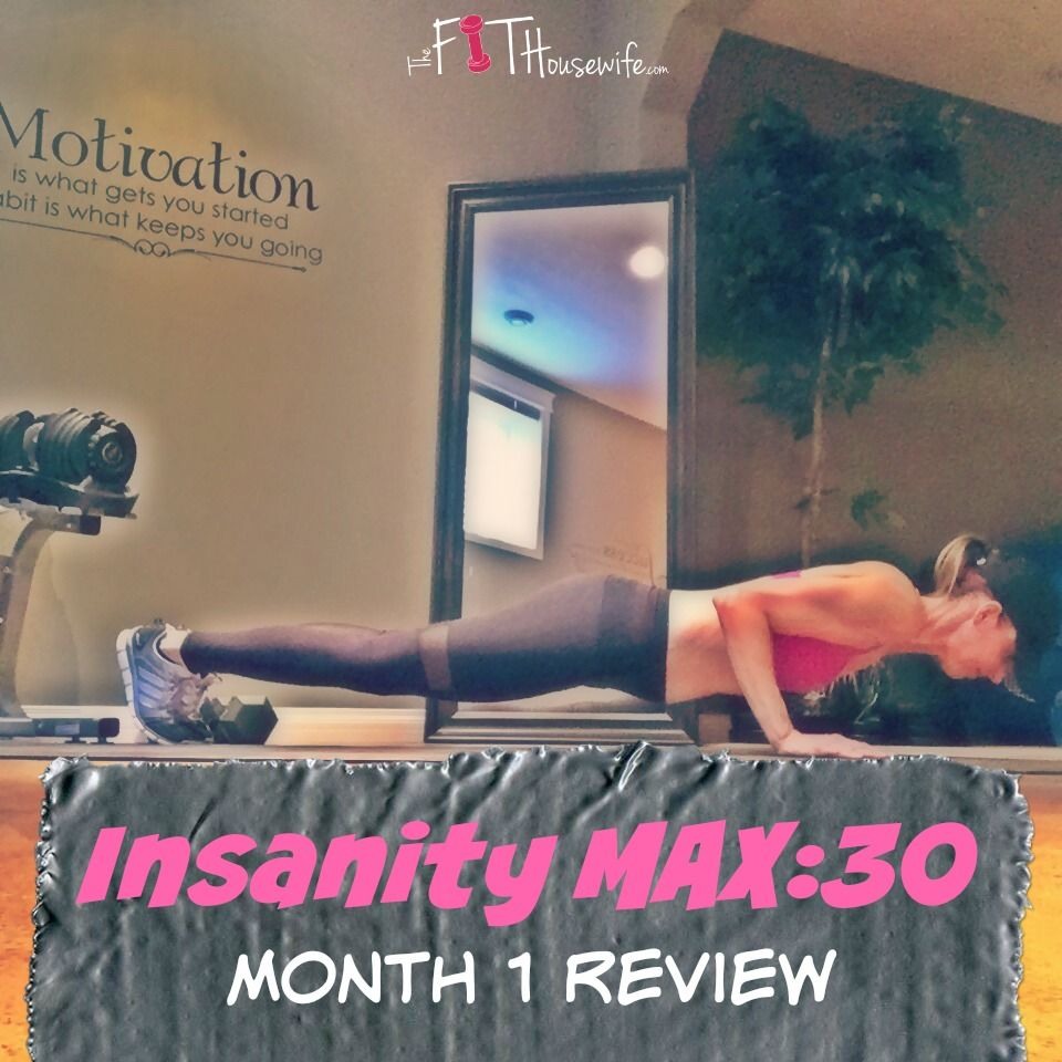 insanity max 30 nutrition guide