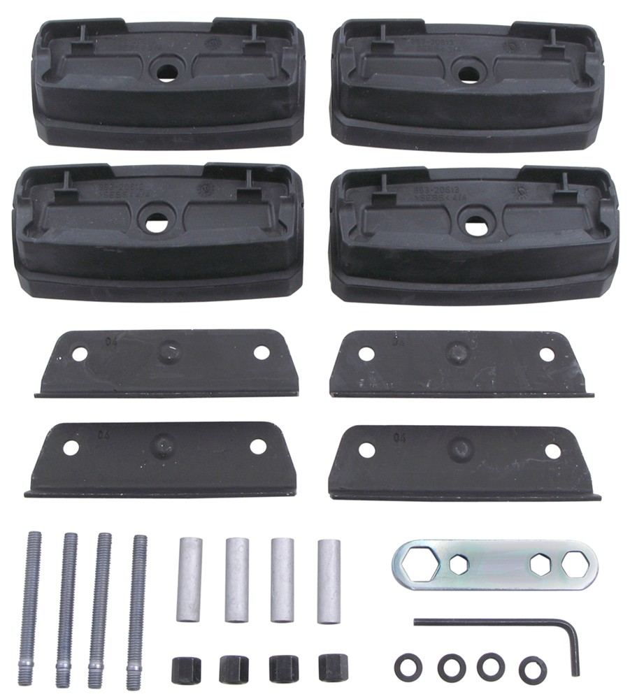 thule roof rack fit kit guide