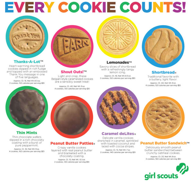 can you order girl guide cookies online