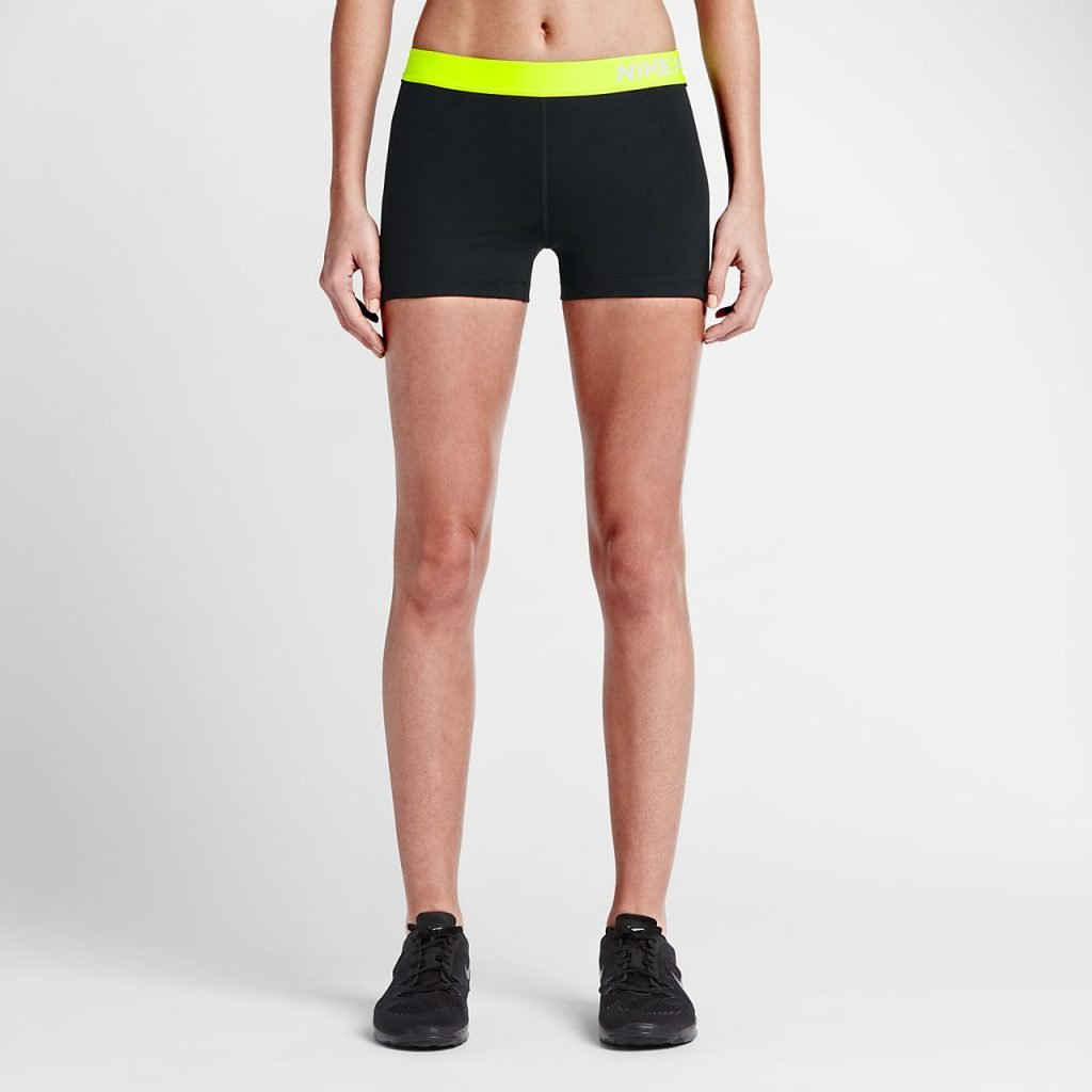 nike pro shorts size guide