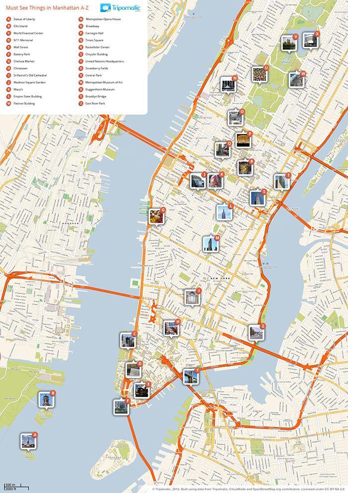 new york city tourist guide pdf