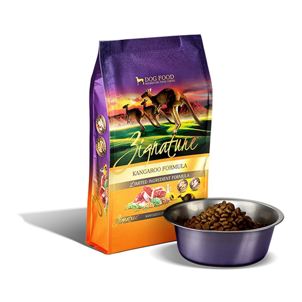 zignature dog food feeding guide
