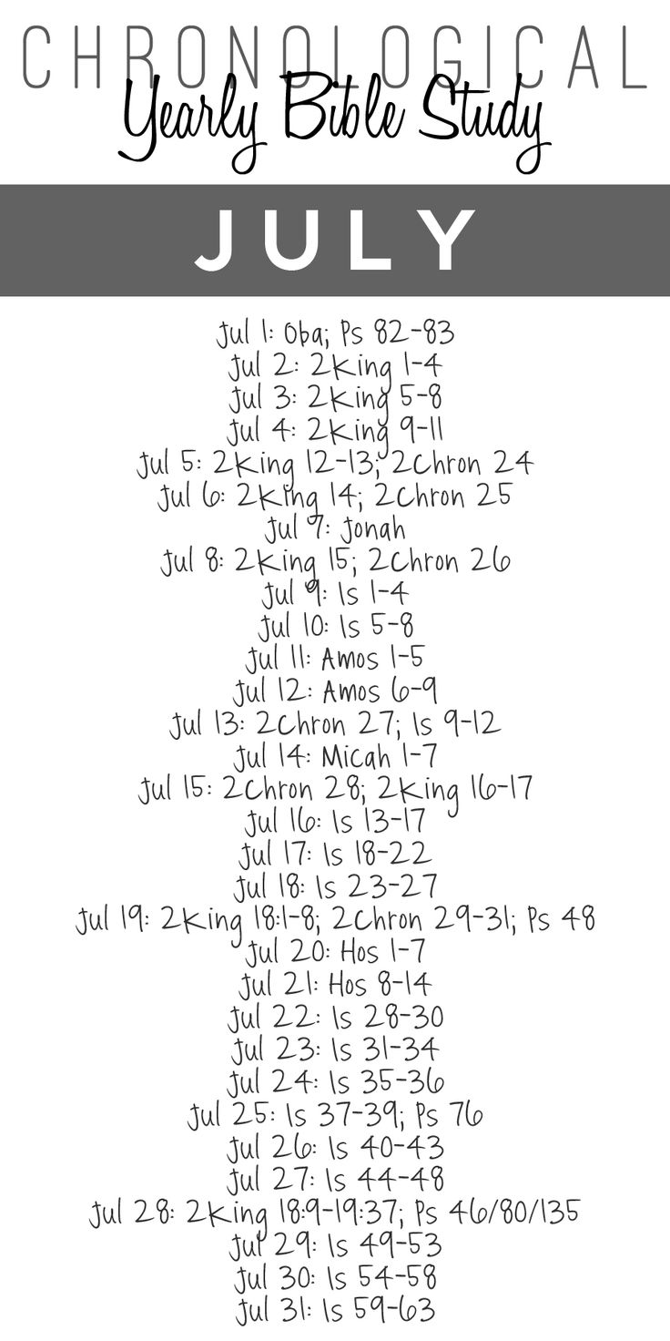 read your bible in a year guide