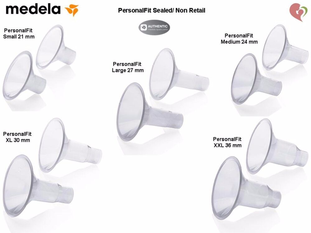 medela breast shield size guide