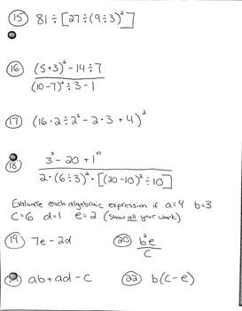 algebra 1 study guide pdf