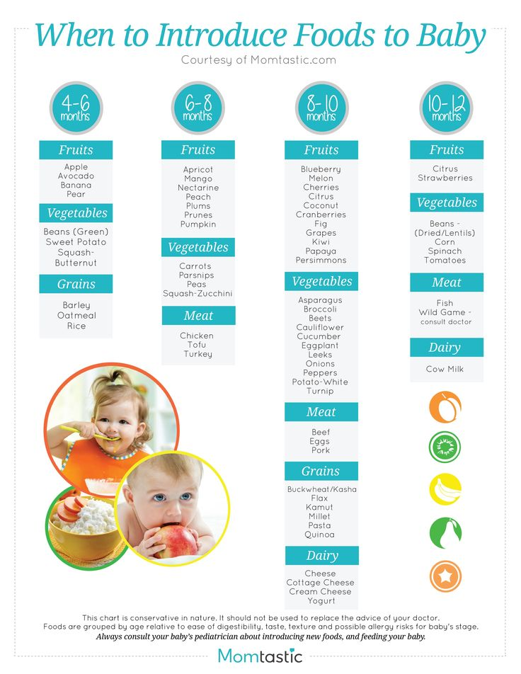 baby feeding guide 8 months