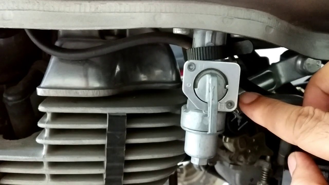 motorcycle reserve fuel switch guide