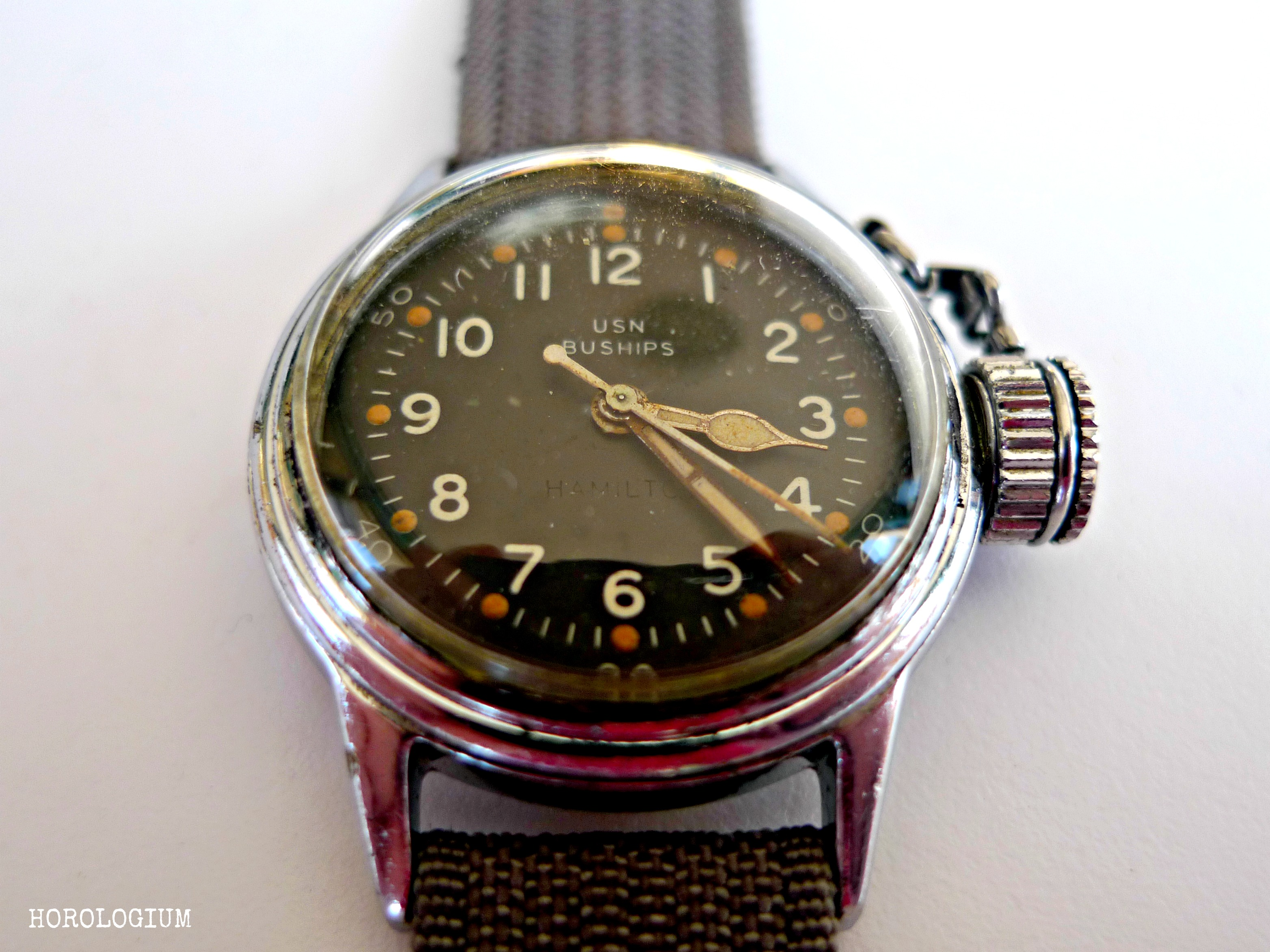 vintage hamilton watch price guide