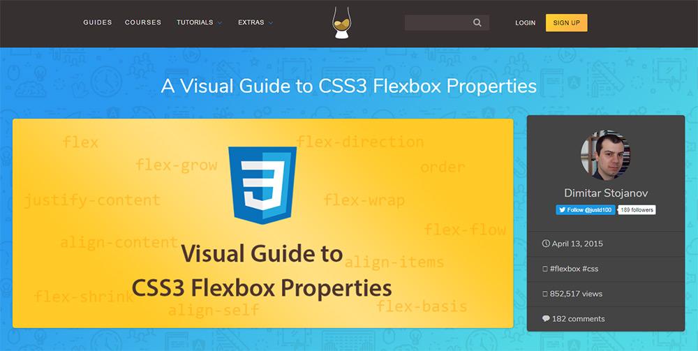 css tricks guide to flexbox
