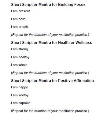 guided chakra meditation balancing & healing script