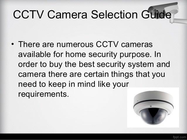cctv camera lens selection guide