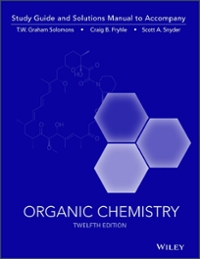 organic chemistry 12e study guide student solutions manual