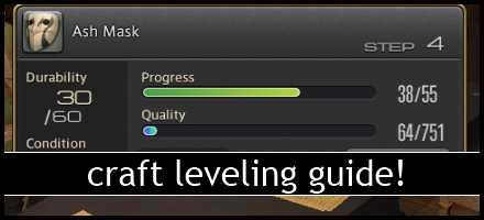 ffxiv botany leveling guide 1 50