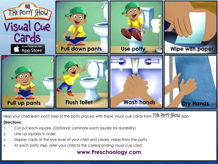 step by step potty training guide