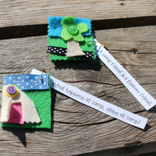 girl guide camp craft ideas