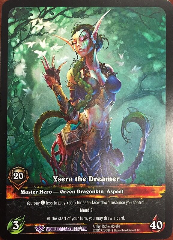 world of warcraft trading card game price guide