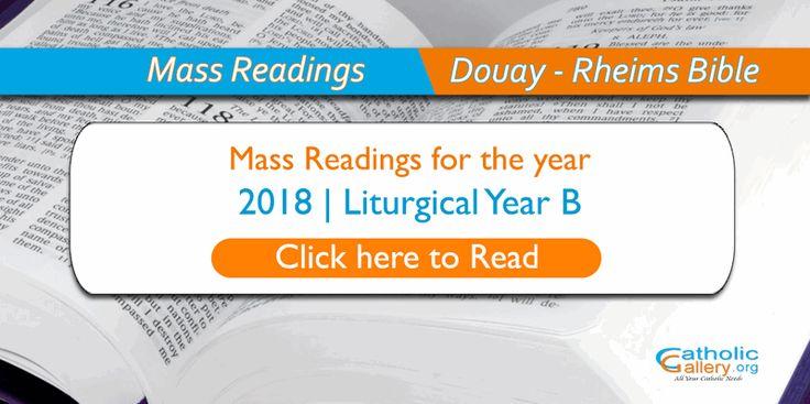 bible reading guide 2018 catholic