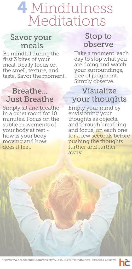 guided meditation to quiet the mind