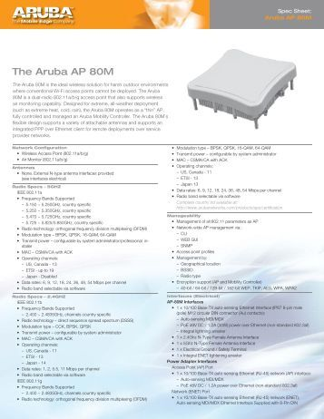 aruba access point configuration guide