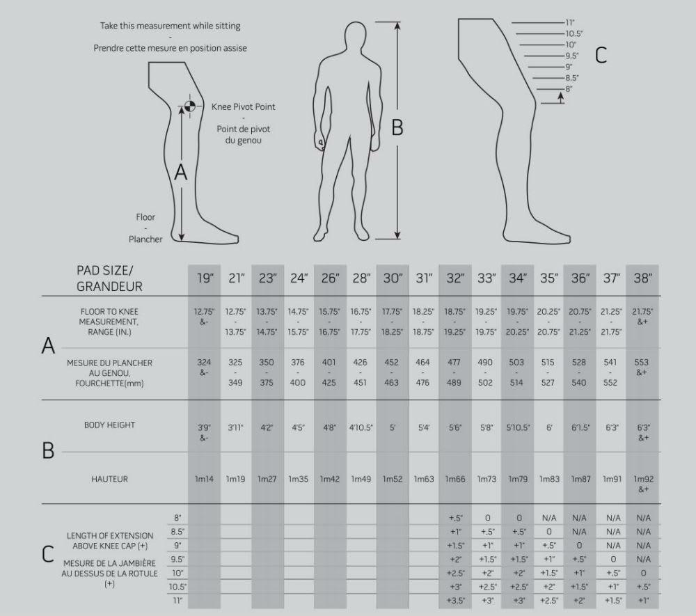 umbro shin pads size guide