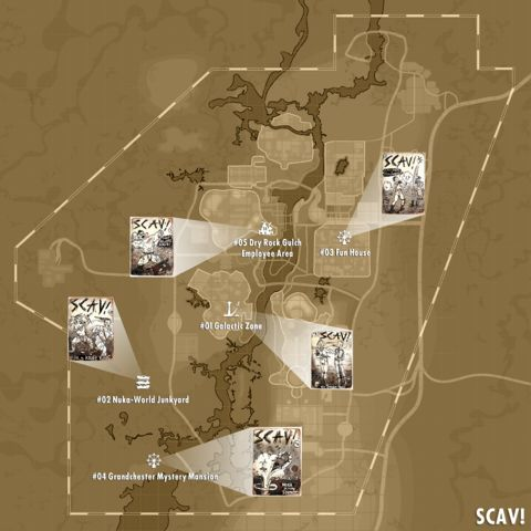 fallout 4 wasteland survival guide locations