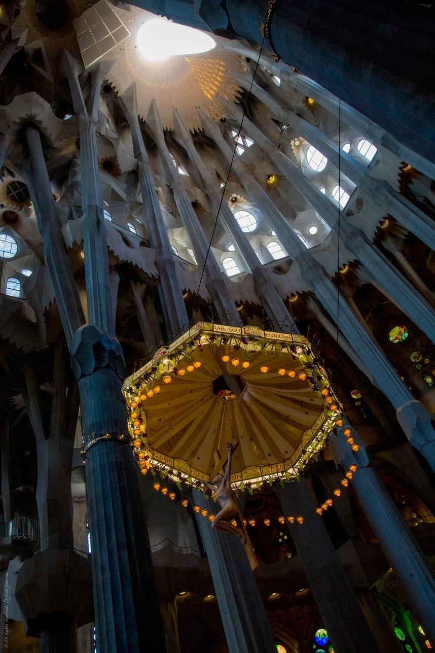 how long is the audio guide at sagrada familia