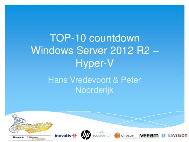 hyper v 2012 r2 installation guide