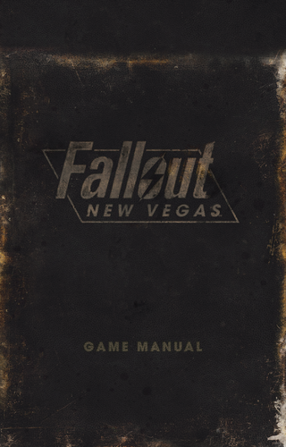 fallout new vegas game guide pdf