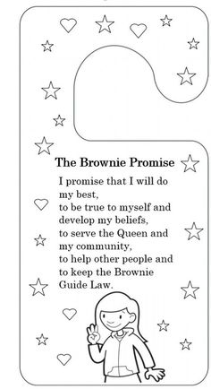 girl guides promise and law activities