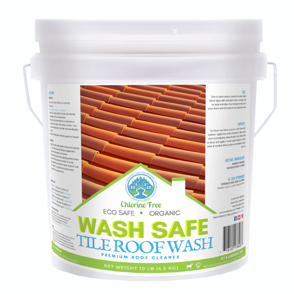 roof cleaning chemicals and products guide