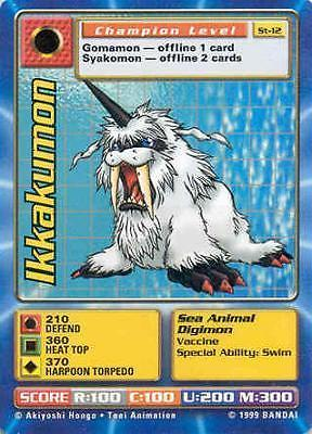 1999 digimon card price guide