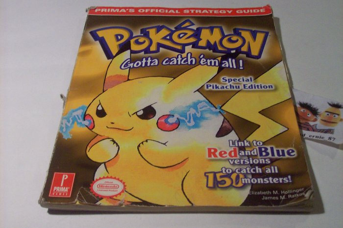 pokemon yellow official strategy guide