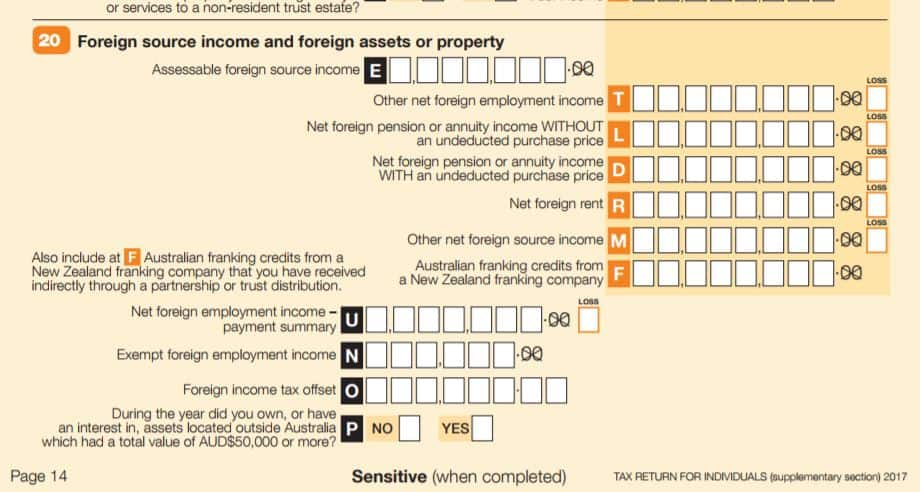 guide to foreign income tax offset
