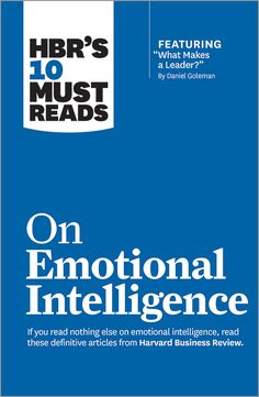 hbr guide to emotional intelligence pdf