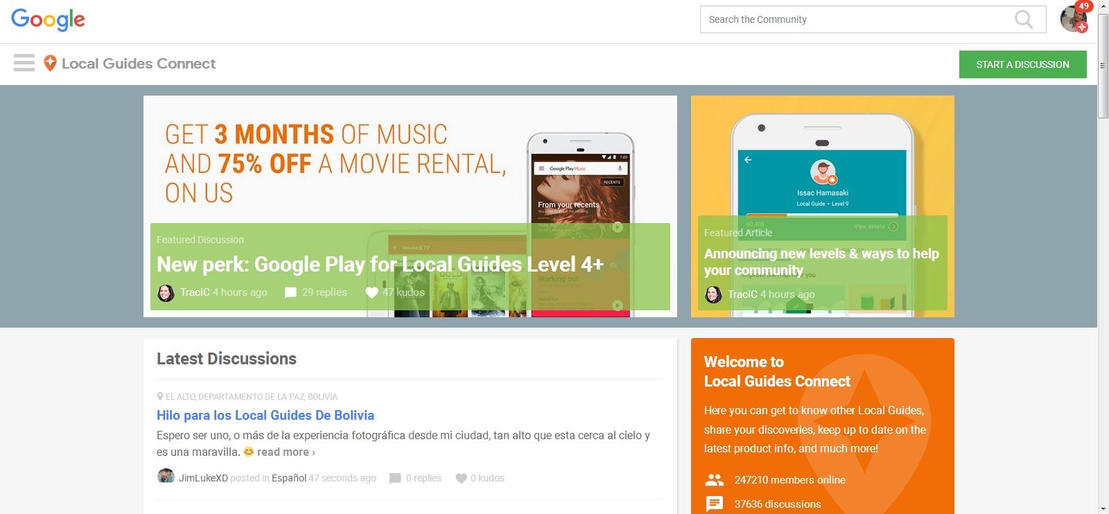 google local guide level 5