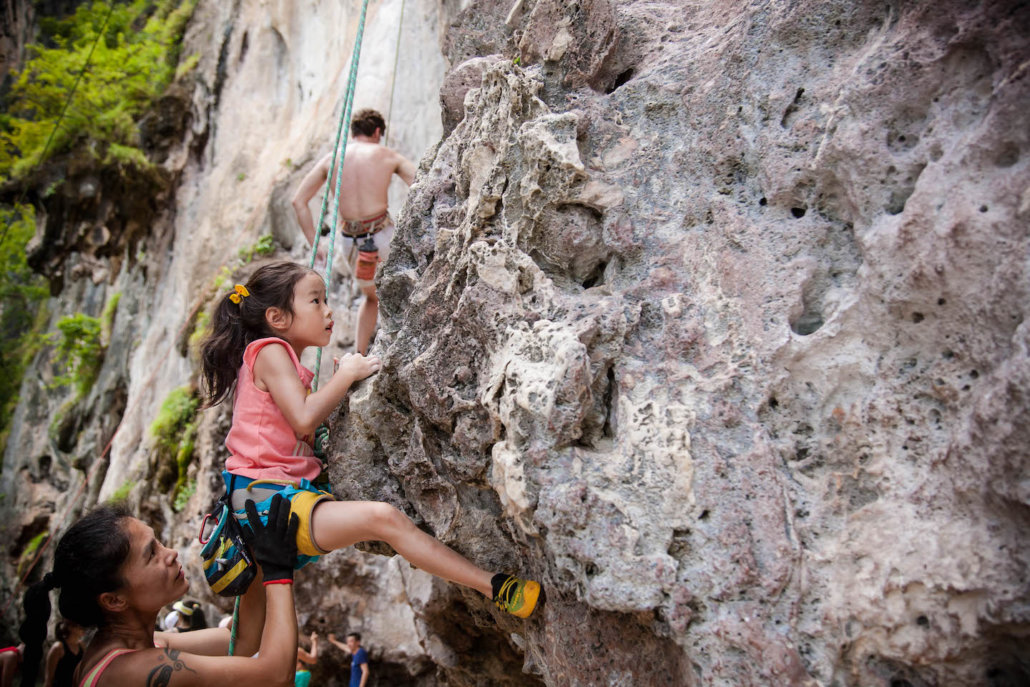 king climbers thailand route guide book